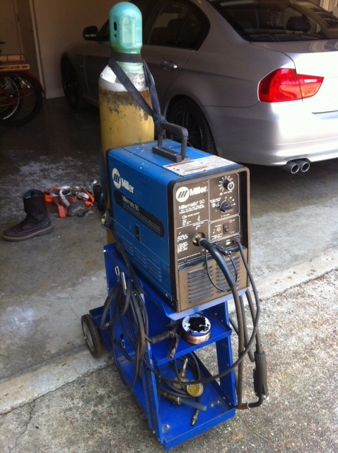 Will This Machine Do The Job Comes With Argon Tank Regulator Spool Of Wire And Cart Too